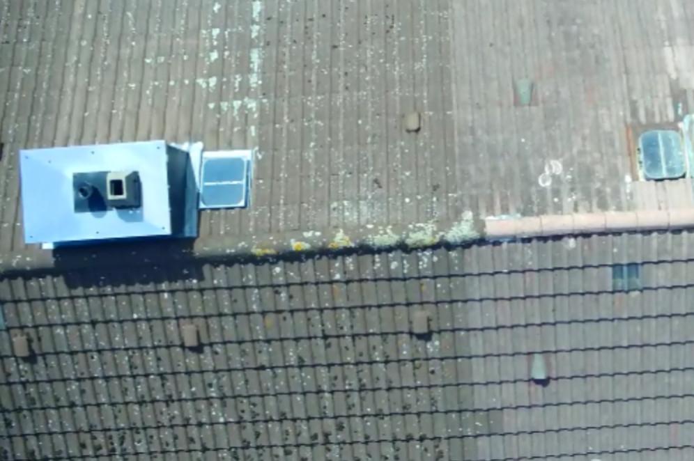 Dachinspektion per Drohne von Plietsch und Gut