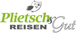 Logo Plietsch und Gut Reisen